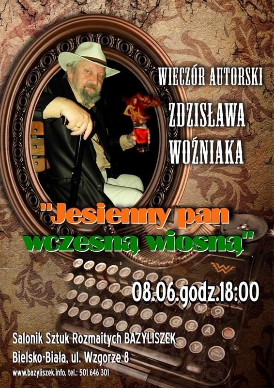 Zdzisław Woźniak - wieczór autorski w Bazyliszku